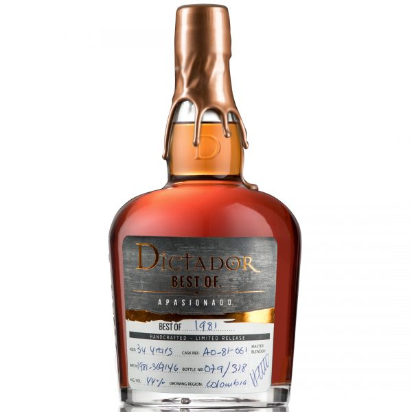 Ron Limited Release colombia Dictador Rum