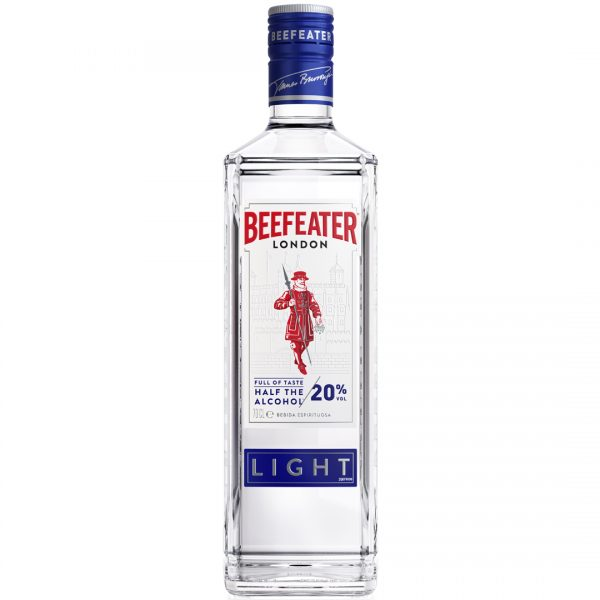 Ginebra low alcohol beefeater Pernod Ricard